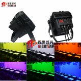 Stage/DJ/Disco/Party/Wedding/Nightclub LED 이동하는 맨 위 빛을%s 1개의 LED 벽 세탁기 선잠기 바 Nj-L20에 대하여 20X15W 6