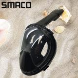L'alta qualità di Smaco 2017 registrabile respira liberamente la mascherina della presa d'aria di nuoto di immersione con bombole del silicone del fronte pieno