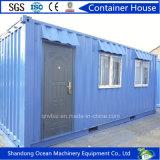 Enviornment friendly portátil prefabricado Casa del envase de la estructura de acero ligero