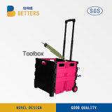 中国の収納箱のオレンジの新しい電力の工具セットボックス