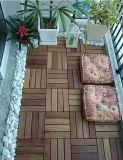 Revêtement de sol en bois massif extérieur Merbau avec certification Ce