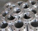 SteelflangeのカスタマイズされたCNCによって機械で造られるステンレス製の部品