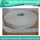Tira de papel de liberação de silício com grau de higiene para o guardanapo Sanitayr (RP-0123)