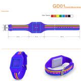 Wristband do Tag do estilo do relógio do silicone RFID ISO14443A com Waterpfoor