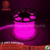 China Alta calidad 12V LED de 360 grados tubo redondo de neón de la decoración de luz flexible