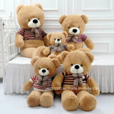Grote Zachte Teddybeer met Overhemd voor het Koesteren