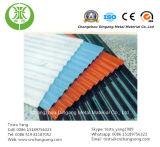 PE/PVDF angestrichenes gewölbtes vorgestrichenes Aluminiumdach-Blatt