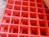 Grille moulée par fibre de verre ignifuge