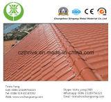 カラー上塗を施してあるアルミニウム屋根ふき
