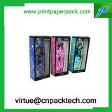 Rectángulos de papel del sombreador de ojos de la historieta del regalo de encargo de la gama de colores con la ventana del PVC