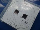 De goedkope Enige Opgeruimde Raad van PCB Fr4 met Witte Soldermask