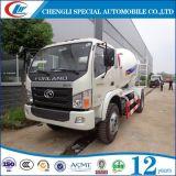 miscelatore concreto del camion delle rotelle di 4cbm 5cbm 6