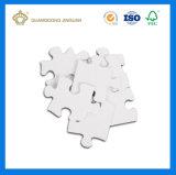 изготовленный на заказ<br/> квадратных головоломки упаковке бумаги (для детей головоломки)