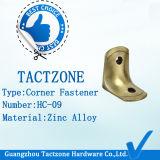 Clip en alliage de zinc de cornière d'usine directement de toilette de compartiment en gros moderne de partition