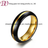 De Ring van de Juwelen van de Manier van de zwarte en Gouden Mensen van de Ring van het Wolfram