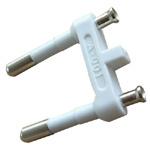 VDE 2.5A 250V одобрил европейскую вставку штепсельной вилки (AL-401)