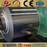 2b bobina dell'acciaio inossidabile di rivestimento 301 con la condizione a metà dura