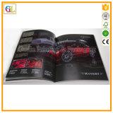 Encuadernación de lujo Pertfect la impresión de revistas con estampado de cubierta