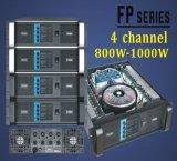 Nuevo amplificador de potencia del alto rendimiento de la serie 4 * 1000W (FP10004)
