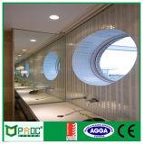 Fenêtre ronde en aluminium de style français avec double vitre