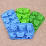 L'insetto del silicone del commestibile della FDA di DIY ha modellato la muffa del cassetto/sapone del cubo dello strato/ghiaccio della torta