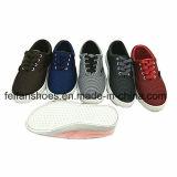 最新の人の注入のズック靴の慰めの余暇の靴(FFHY0116-03)