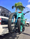 Gummireifen-Fahrrad der Dame-250With350With500W elektrisches 26inx4 fettes fettes des Reifen-E Bike/E/elektrischer fetthaltiger Bicycle/E Sand Bike/E fettes Pedelec/alles Gelände-Fahrrad des Schnee-Bike/E im Blau