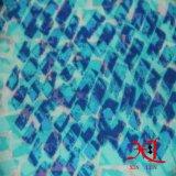 Pequeño patrón de la impresión de la flor tela de la gasa para las muchachas que arropan