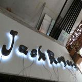 Facendo pubblicità al segno Backlit della lettera dell'acciaio inossidabile LED ed al segno 3D