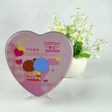 Het Tin van de Chocolade van de Vorm van het Hart van de douane, Doos van het Tin van de Gift van het Suikergoed van de Valentijnskaart de Verpakkende met de Vorm van het Hart
