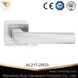 Aluminium de haute qualité La poignée de verrouillage de porte en bois (AL217-ZR23)