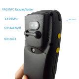 4G GSMのポータブルの8MPの第2 Qrcodeのバーコードのスキャンナーはカメラを支持する