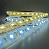 La fábrica venta directamente DC12 60LED / M 5050 tira flexible del LED de iluminación