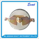 Tipo hidráulico calibre da Manómetro-Braçadeira do Calibrar-Líquido da pressão do aço inoxidável de pressão