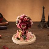 Flor hecha a mano de la promoción para la decoración del hogar de la boda