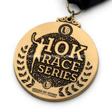 Venta al por mayor 10k personalizada Medal Race Sport Run Series