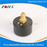 Mini connecteur de laiton de boîtier plastique d'indicateur de pression