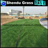 Grama verde 10mm artificial da alta qualidade high-density