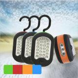 27 LED-rotierende Haken-Magnet-Taschenlampe-Kontrollen-Arbeits-Leuchte