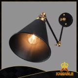 Lichte Inrichting van de Lamp van de Muur van het Wapen van de Schommeling van het metaal de Zwarte Industriële (KABS5009)