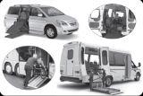 Las furgonetas comerciales Sistema de elevación de la rampa para silla de ruedas