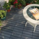 Terrasse extérieure en PVC amovible en plastique de verrouillage de lamelles de tuiles de plancher