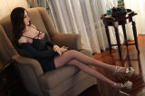 [158كم] [إيوروبن] وجه بنت مثيرة [ليف-سز] حقيقيّة جنس دمية