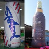 Подгонянная раздувная бутылка напитка может для рекламировать промотирования