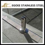 Frameless Glaszapfen, quadratischer Zapfen mit Grundplatte, Qualitäts-Pool-Zaun-Zapfen