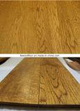 El grano de trigo de oro aceite suave pisos de madera de roble
