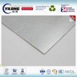 Doble / de un lado del papel de aluminio laminado EPE espuma de rollos de película