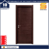 Porta de painel de madeira contínua exterior do interior feito sob encomenda do certificado E1