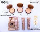Fundação Washami com acabamento Maquiagem em pó 2in1 Set Wholesale