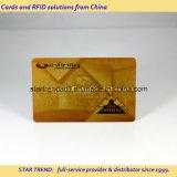 Cartão de Ouro de Prata com assinatura para VIP